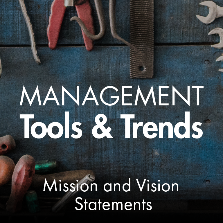 Management Tools - Mission and Vision Statements - Bain & Company