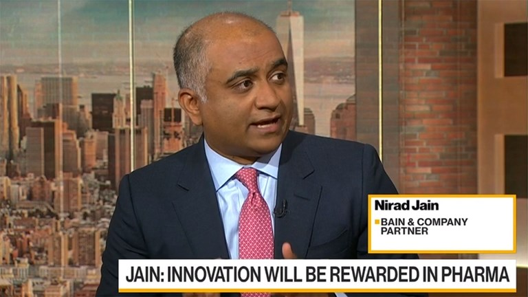 Nirad Jain on the Future of Pharma - Bain & Company